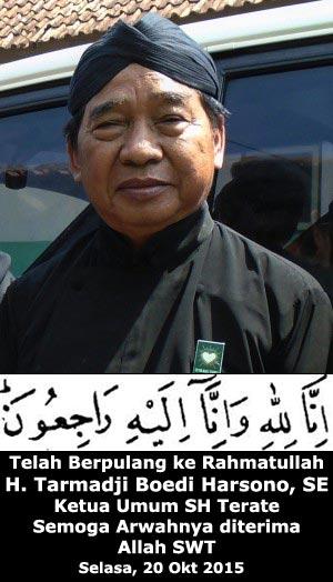 <b>...</b> Ketua Dewan Pusat Persaudaraan <b>Setia Hati Terate</b> (PSHT) Pusat Madiun <b>...</b> - pak-maji-meninggal1