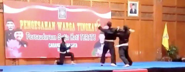 Tiga pesilat anggota PELATNAS ASIAN GAMES 2019, Puspa Arum Sari, Dede Setiadi, dan Haidir Agung F, memeriahkan acara pengesahan warga tingkat I PSHT Cabang Surakarta […]
