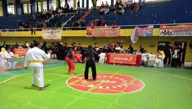 pencak silat open turnamen of Banyuwangi International Championship