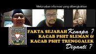 Assalamualaikum Wr Wb,Poro Kadang Kinasih, Sejauh ini masih terus ada upaya-upaya menjatuhkan martabat kepengurusan hasil Parluh 2016 oleh oknum2 perusak organisasi yang salah satunya adalah […]