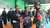 """Komandan Korem (Danrem) 012/Teuku Umar Kolonel Inf Djon Afriandi, S.I.P, MS.DA, mendukung kemajuan dan pengembangan pencak silat di Nagan Raya. """"Dengan adanya pertemuan atau komunikasi […]"""