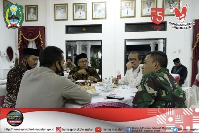 Bupati Magetan dan Ketua Umum PSHT
