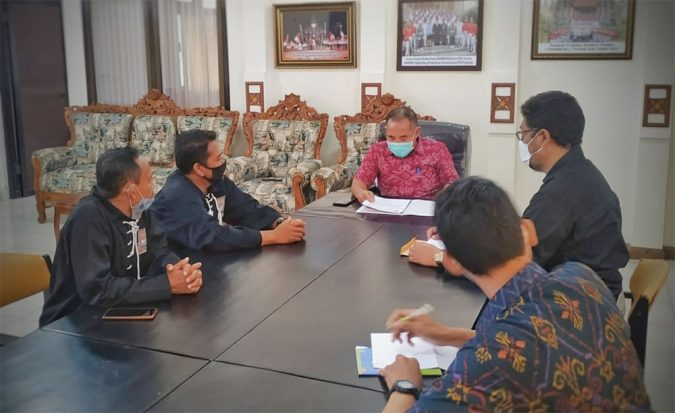 Audiensi PSHT dengan Pemerintah Provinsi Bali